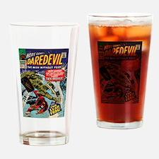 Daredevil Comic Book 25 Drinking Glass