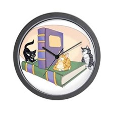 Kittys Tale Wall Clock