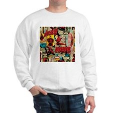 Daredevil Collage Sweatshirt