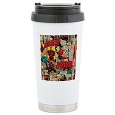 Daredevil Collage Travel Mug