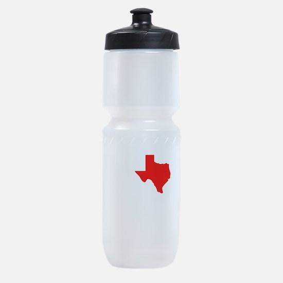 I Heart Texas Sports Bottle