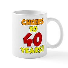 Cheers To 40 Years Drinkware Mugs