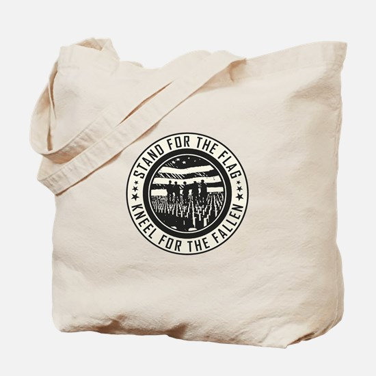 Kneel For The Fallen Tote Bag