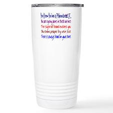 Cute Lab tech Travel Mug