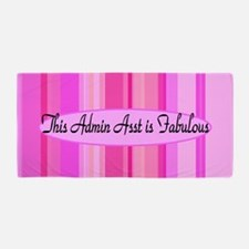 Love Pink Admin Asst Beach Towel