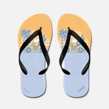 Snoopy Beach Flip Flops