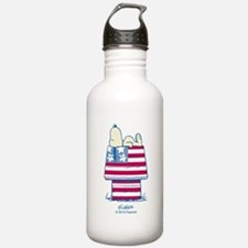 Snoopy 4th Of July Water Bottle
