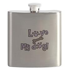 LOVE MY DOG! Flask
