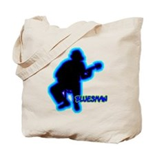 Silhouettes Bluesman Tote Bag