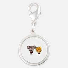Dog and cat Charms