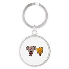 Dog and cat Keychains