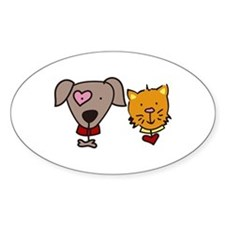 Dog and cat Decal