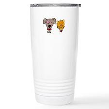 Dog and cat Travel Mug