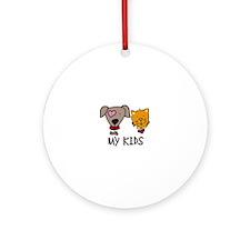 My Kids Ornament (Round)