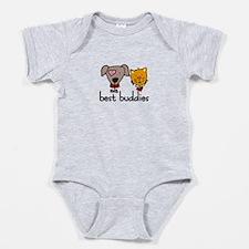 best buddies Baby Bodysuit