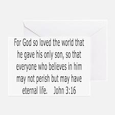 John 3:16 Greeting Cards (6)