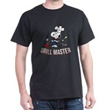 Snoopy Mens Classic Dark T-Shirts