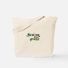 Gardeners Kiss Grass Tote Bag