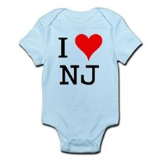 I Love NJ Infant Bodysuit