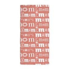 World's Sweetest Mom Beach Towel