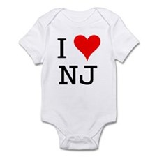 I Love NJ Onesie