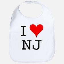 I Love NJ Bib