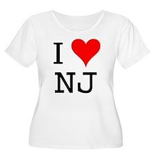 I Love NJ T-Shirt