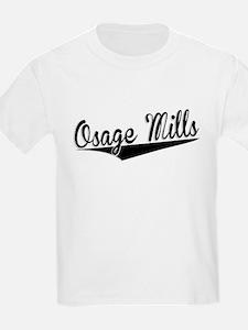 Osage Mills, Retro, T-Shirt