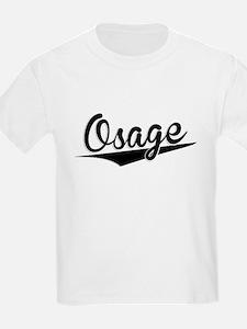Osage, Retro, T-Shirt