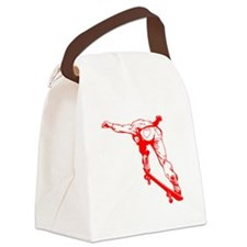 Skateboard Canvas Lunch Bag