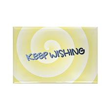 KEEP WISHING Rectangle Magnet