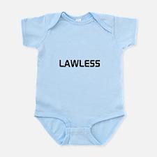 LAWLESS (outlaw hacker font) Body Suit