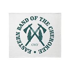Cherokee (Eastern Band) Throw Blanket