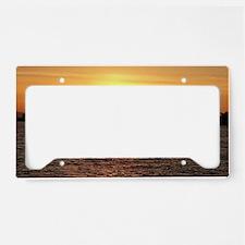 Sunrise License Plate Holder