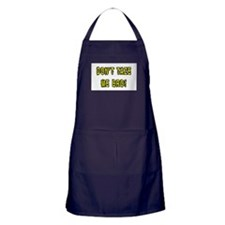 dont taze me bro Apron (dark)