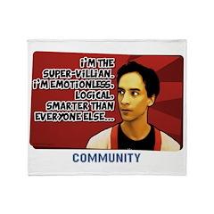 Super Villian Throw Blanket