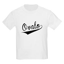 Ovalo, Retro, T-Shirt