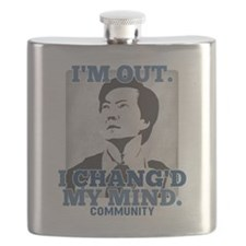 Chang'd My Mind Flask