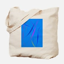 Morning Wind Cerulean Blue Tote Bag