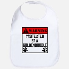 Protected By A Goldendoodle Bib