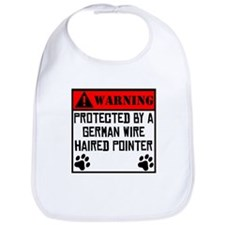 Protected By A German Wirehaired Pointer Bib