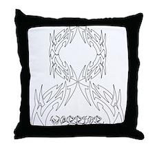 Retinoblastoma Warrior Throw Pillow