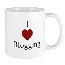 I Love Blogging Mug Mugs