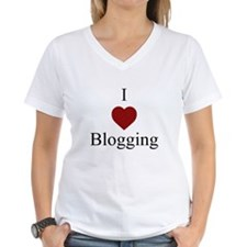 I Love Blogging On Shirt