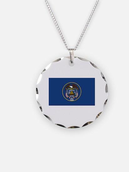 Flag of Utah Necklace