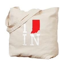 I Heart Indiana Tote Bag