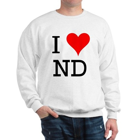I Love ND Sweatshirt