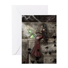 Little Hope Fairy Gothic Fantasy Art Greeting Card