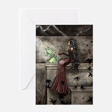 Little Hope Fairy Gothic Fantasy Art Greeting Card