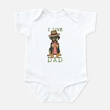 Doberman Dad Infant Bodysuit